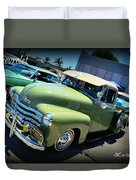 Chevy Truck Duvet Cover