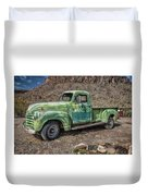 Chevy Truck Route 66 Duvet Cover