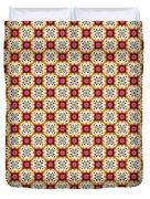 Chic Seamless Tile Pattern Duvet Cover