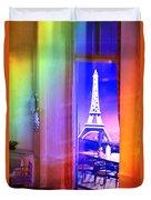 Chicago Art Institute Miniature Paris Room Pa Prismatic 08 Vertical Duvet Cover