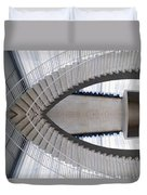 Chicago Art Institute Staircase Mirror Image 01 Duvet Cover