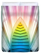 Chicago Art Institute Staircase Pa Prism Mirror Image Vertical 02 Duvet Cover