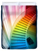 Chicago Art Institute Staircase Pa Prismatic Vertical 02 Duvet Cover