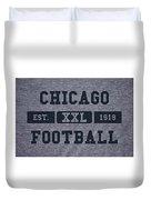 Chicago Bears Retro Shirt Duvet Cover