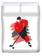 Chicago Blackhawks Player Shirt Duvet Cover