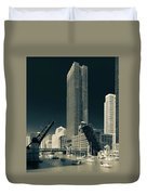 Chicago Bridges-2 Duvet Cover