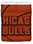 Chicago Bulls Leather Art Duvet Cover