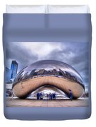 Chicago Cloud Gate Duvet Cover