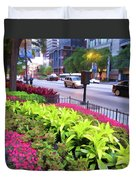 Chicago Color Duvet Cover