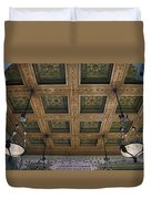 Chicago Cultural Center Staircase Ceiling Duvet Cover