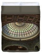 Chicago Cultural Center Tiffany Dome 01 Duvet Cover