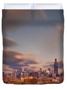 Chicago Dusk Duvet Cover