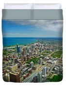 Chicago East View Duvet Cover