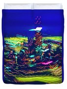 Chicago Gold Coast Abstract Duvet Cover