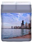 Chicago Lakeshore Duvet Cover