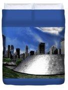 Chicago Millennium Park Bp Bridge Pa 01 Duvet Cover