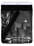 Chicago Pride Of Illinois Duvet Cover