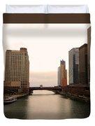 Chicago Rive Duvet Cover