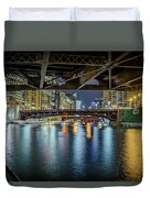 Chicago River Hd Duvet Cover