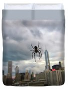 Chicago-room With A View Duvet Cover