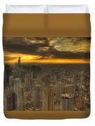 Chicago Setting Duvet Cover