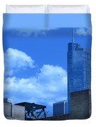 Chicago Skyline 2 Duvet Cover