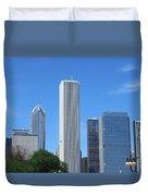 Chicago Skyline 6 Duvet Cover