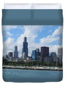 Chicago Skyline 7 Duvet Cover
