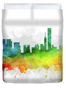 Chicago Skyline Mmr-usilch05 Duvet Cover