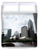 Chicago Skyscrapers Duvet Cover