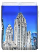 Chicago The Gothic Tribune Tower Duvet Cover