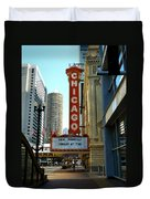 Chicago Theater - 1 Duvet Cover