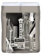 Chicago Theater - 2 Duvet Cover