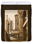 Chicago Theater - 3 Duvet Cover