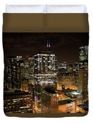 Chicago Times Duvet Cover