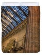 Chicago Union Station Column Duvet Cover