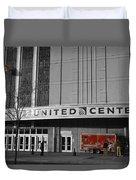 Chicago United Center Signage Sc Duvet Cover