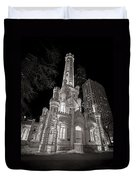 Chicago Water Tower Duvet Cover