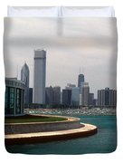 Chicago Waterfront Duvet Cover