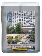 Chicago Watertaxi Duvet Cover