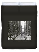 Chicago Welcomes Apollo 11 Astronauts Duvet Cover by Nasa