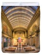 Chicagos Union Station Duvet Cover