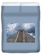 Chichen-itza Pyrmid In Mexico Duvet Cover