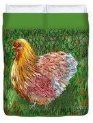 Birschen Chicken  Duvet Cover