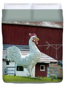 Chicken Anyone? Duvet Cover