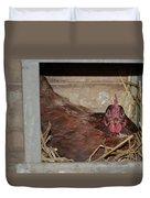 Chicken Box Duvet Cover
