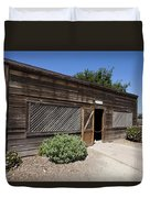 Chicken Coop At Ardenwood Historic Farm Duvet Cover