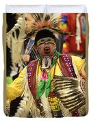 Pow Wow Chicken Dancer Duvet Cover