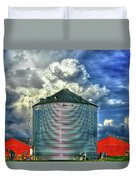 Chicken Feed Other Worldly Sky Art Duvet Cover
