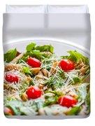 Chicken Pasta Salad Duvet Cover